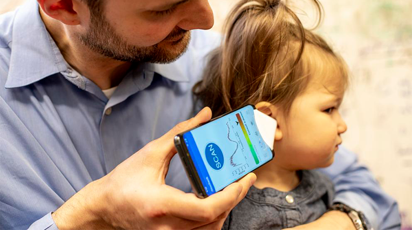 El dolor de oído para los niños se acabara usando una sola APP