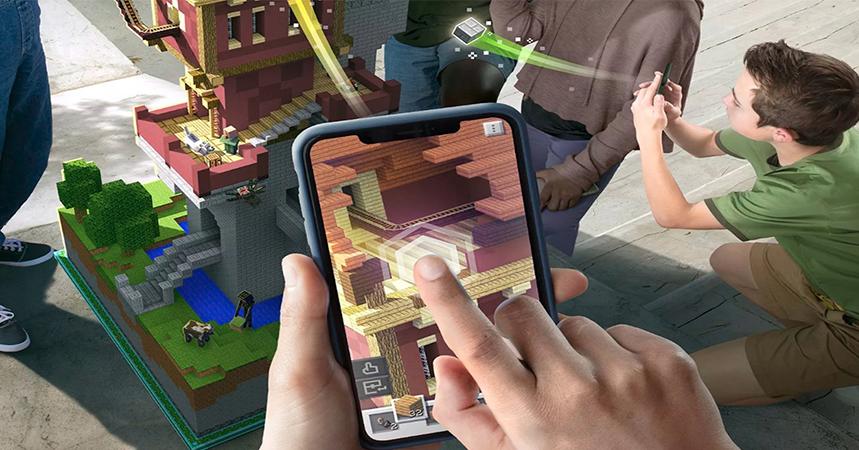 """""""""""Minecraft Earth"""" será rival de """"pokémon Go"""" con su nuevo juego de realidad virtual"""""""