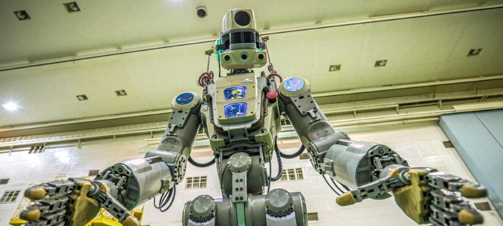 Rusia envía a su primer androide Fedor a la Estación Espacial Internacional