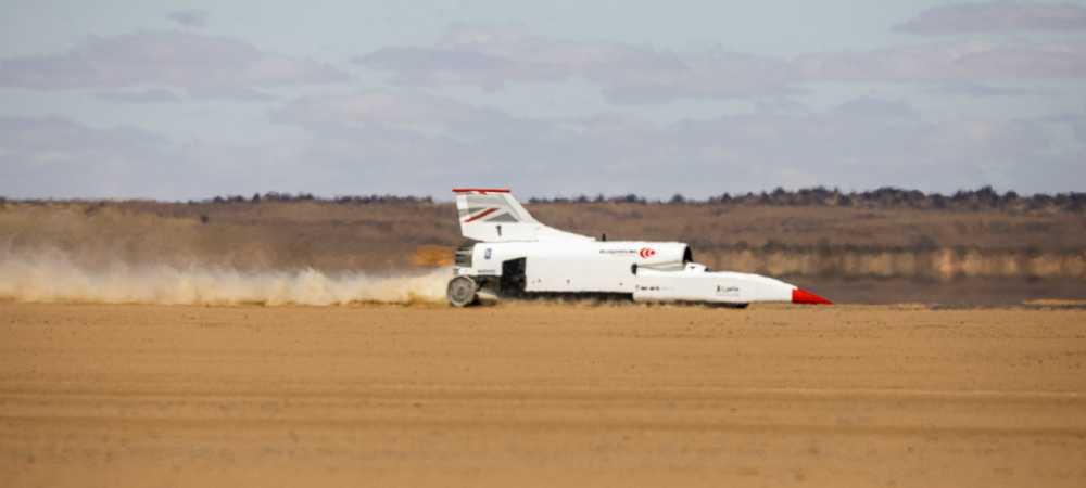 Bloodhound LSR: Un coche cerca de ser el más rápido del mundo