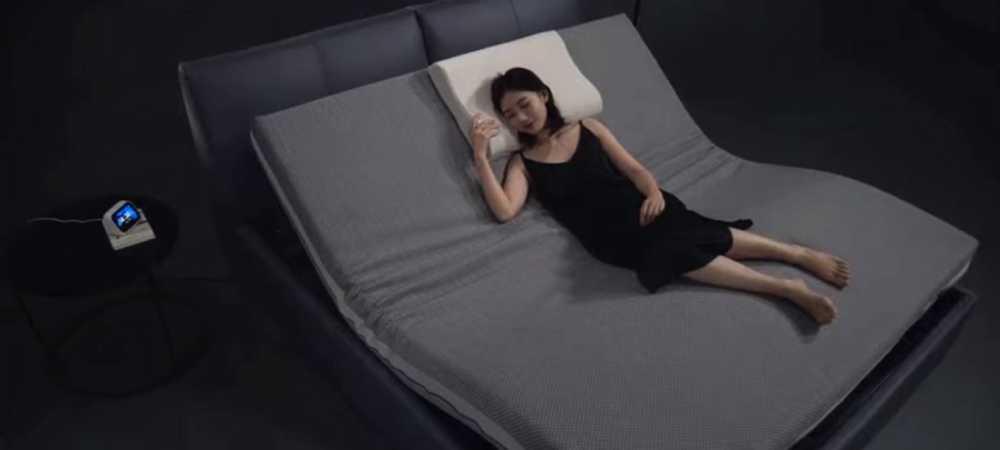 La cama eléctrica de Xiaomi que incluye control de voz y botones para ajustar la elevación