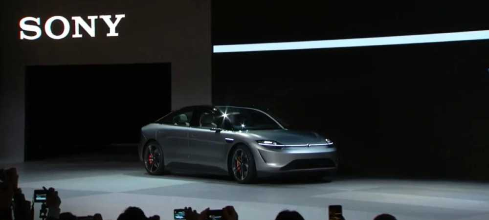 Sony: Presenta a su nuevo vehículo eléctrico inspirado en Tesla