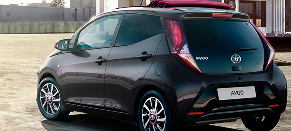 El nuevo Toyota Aygo x-style