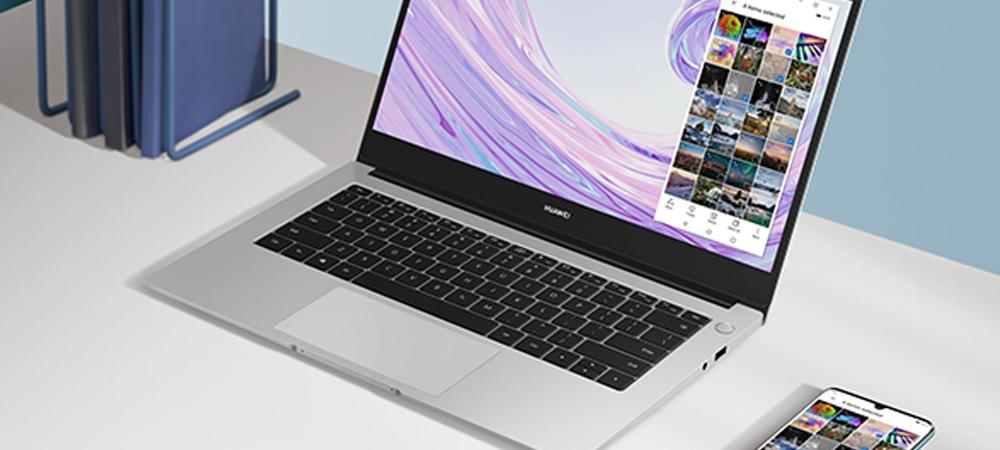 Serie HUAWEI MateBook D: Llegan al Perú las laptops con cámara retráctil y huella dactilar