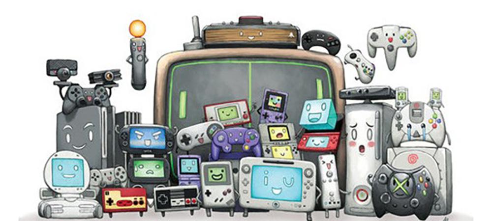 Las videoconsolas a lo largo de las generaciones