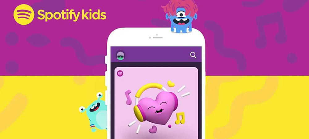 Spotify Kids permitirá a los padres ver el historial de sus hijos y bloquear contenido