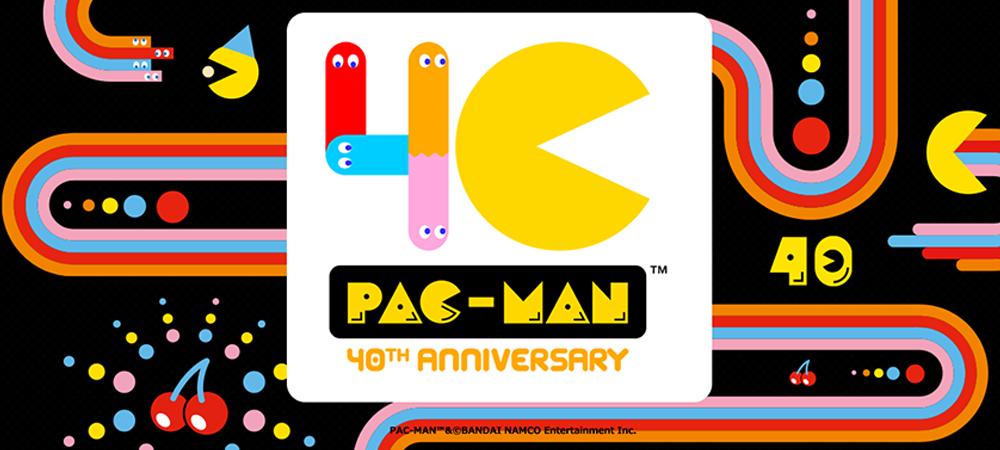 ¡Pac-Man cumple 40 años!