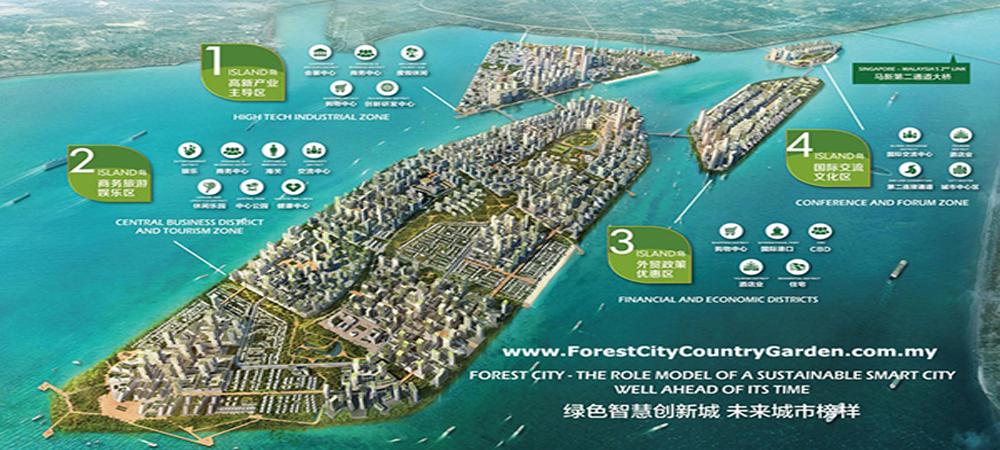 Malasia: una ciudad inteligente y sostenible formada por islas