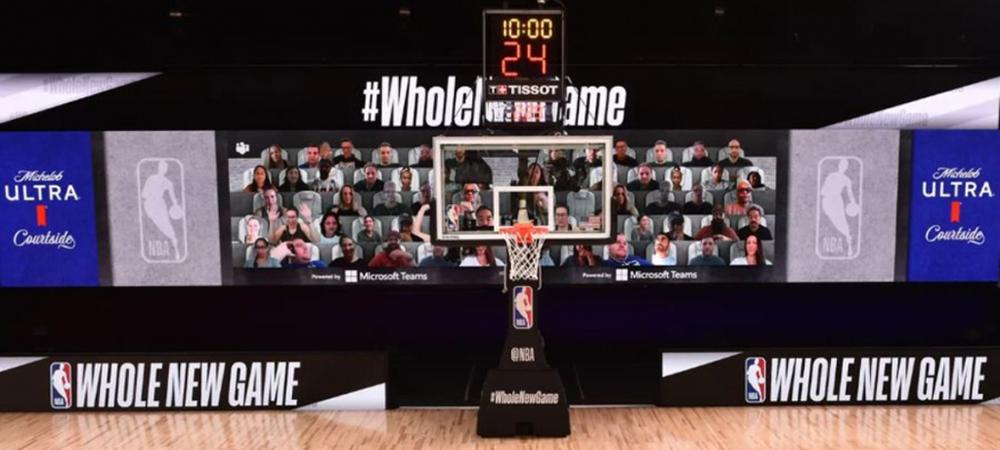 La NBA y Microsoft se unen para llevar a los fans al estadio