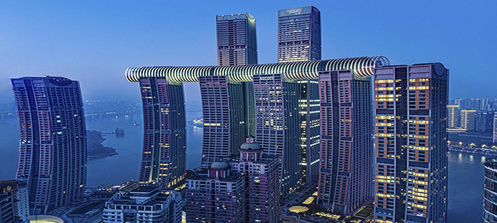 China cautiva al mundo con su rascacielo horizontal de 300 metros