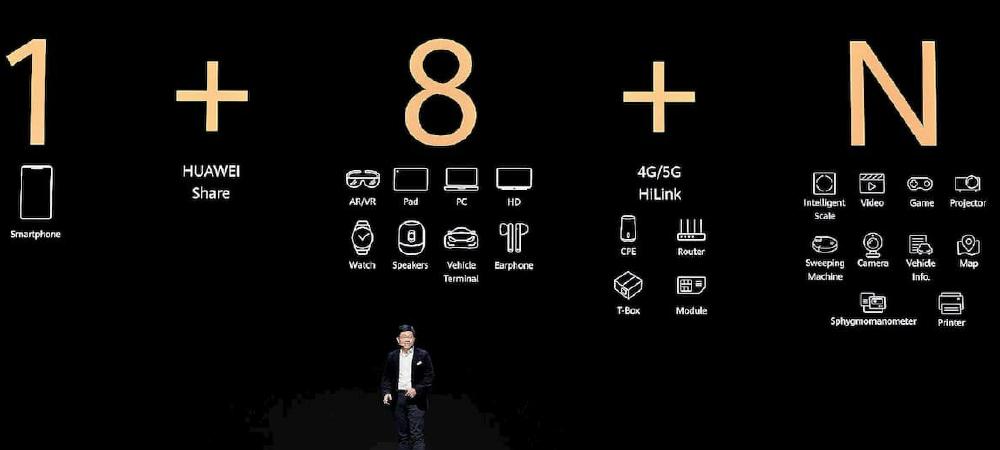 1+8+N: La iniciativa de Huawei que busca convertir al móvil en epicentro de las demás tecnologías