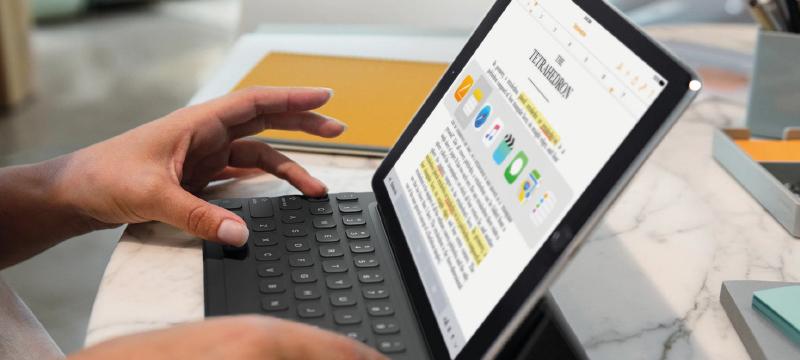 Conoce cómo potenciar tu iPad Pro para organizarte en tus estudios