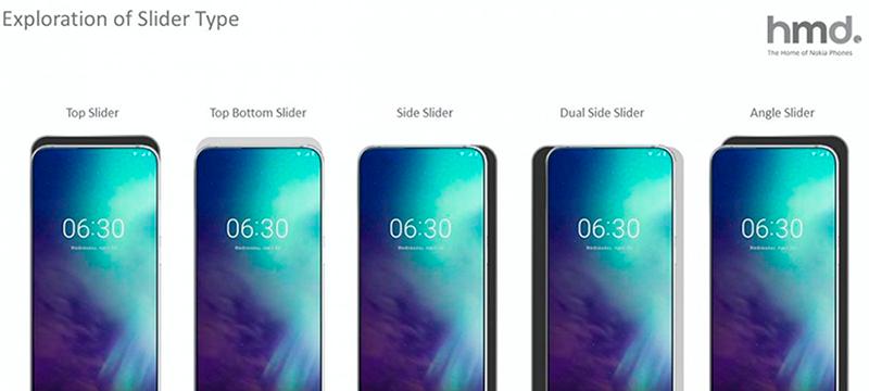 Nokia enseña un móvil con un mecanismo deslizante en todas las direcciones