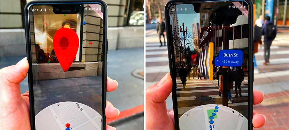 Google Maps: El mapa ahora contará con realidad aumentada