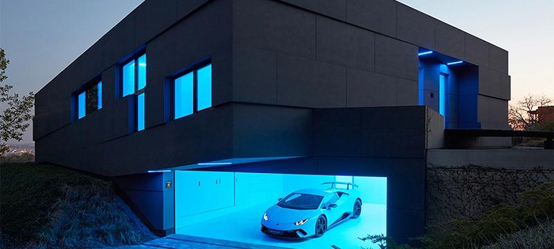 La casa inteligente que se adapta a las necesidades de sus habitantes