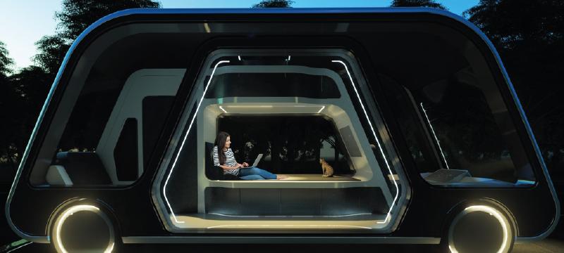 Autonomous Travel Suite: la habitación sobre ruedas que reinventa los servicios de los hoteles
