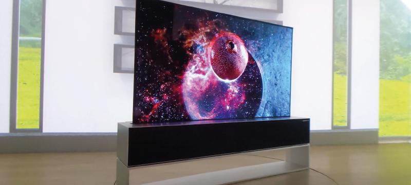 LG Signature OLED TV R: el televisor enrollable que pronto estará a la venta